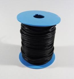Cordón de cuero redondo 2,5 mm.