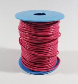 Cordón de cuero redondo 2 mm.