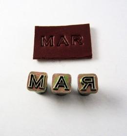 Alfabeto de ¼ 4909