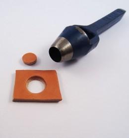 Sacabocados de golpe cilíndrico 13 mm