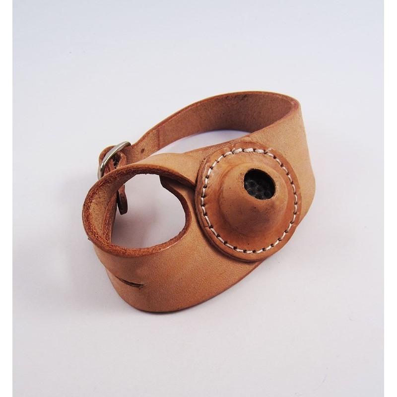 Protector para coser zurdos