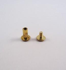 Tornillo de encuadernación 1 cm