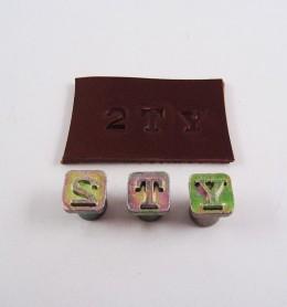 Alfabeto con números 8134
