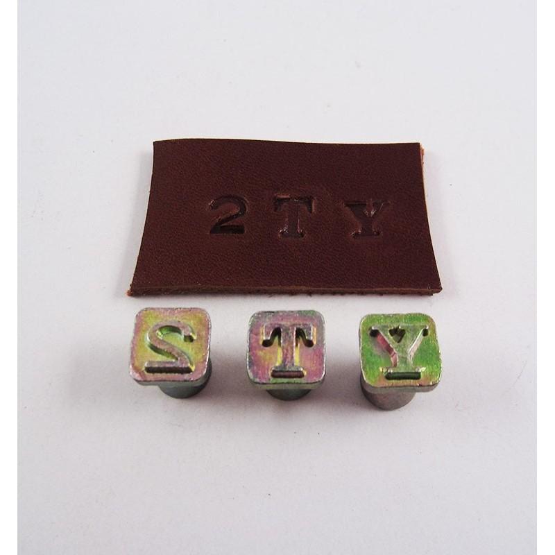 Alfabeto de ¼ con números 8134