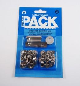 Pack broches Olimpia 700 con útiles de colocación