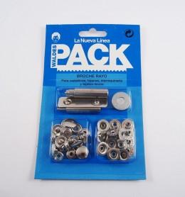 Pack broches 8020 con útiles de colocación