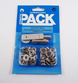 Pack broches 8100 con útiles de colocación