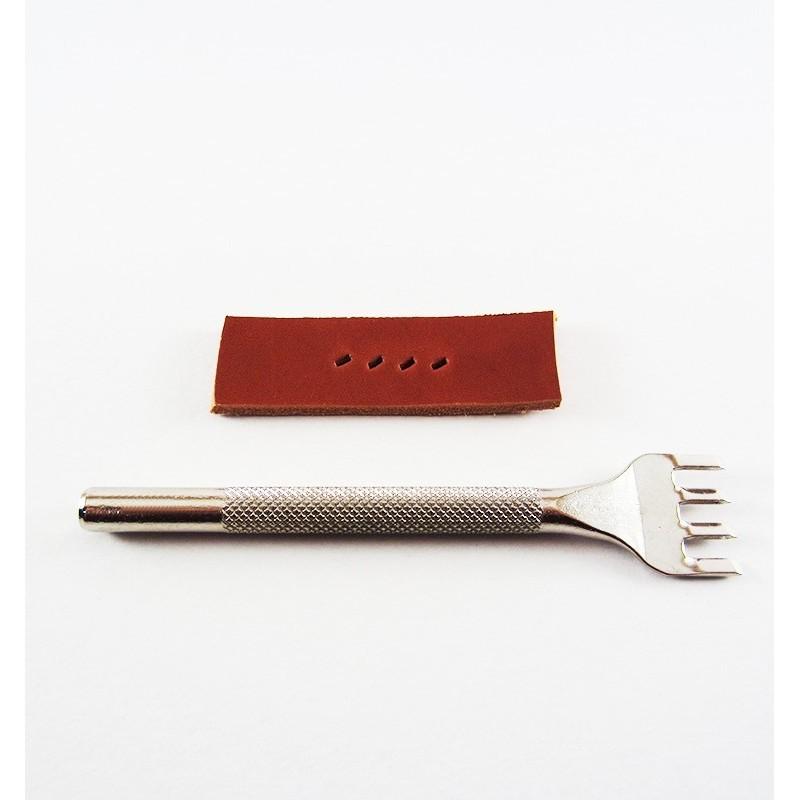 Tenedor del n 4 oblicuo ancho curtidos carrasco for Ofertas tenedor