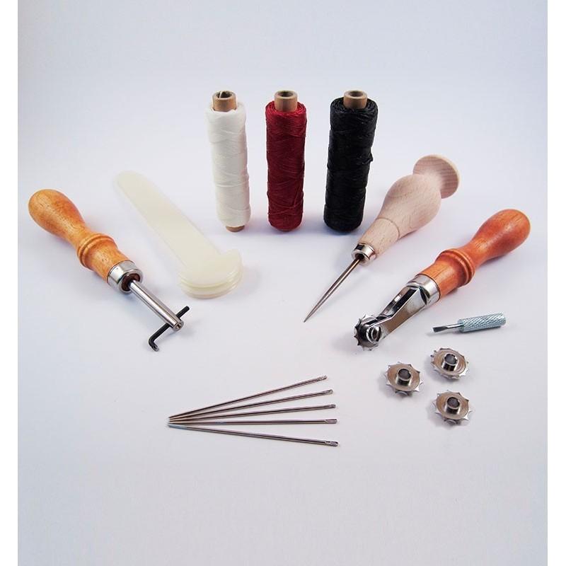 Kit premium para coser cuero