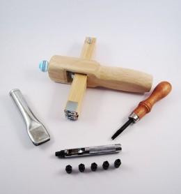 Kit fabricación artesanal de cinturones de cuero