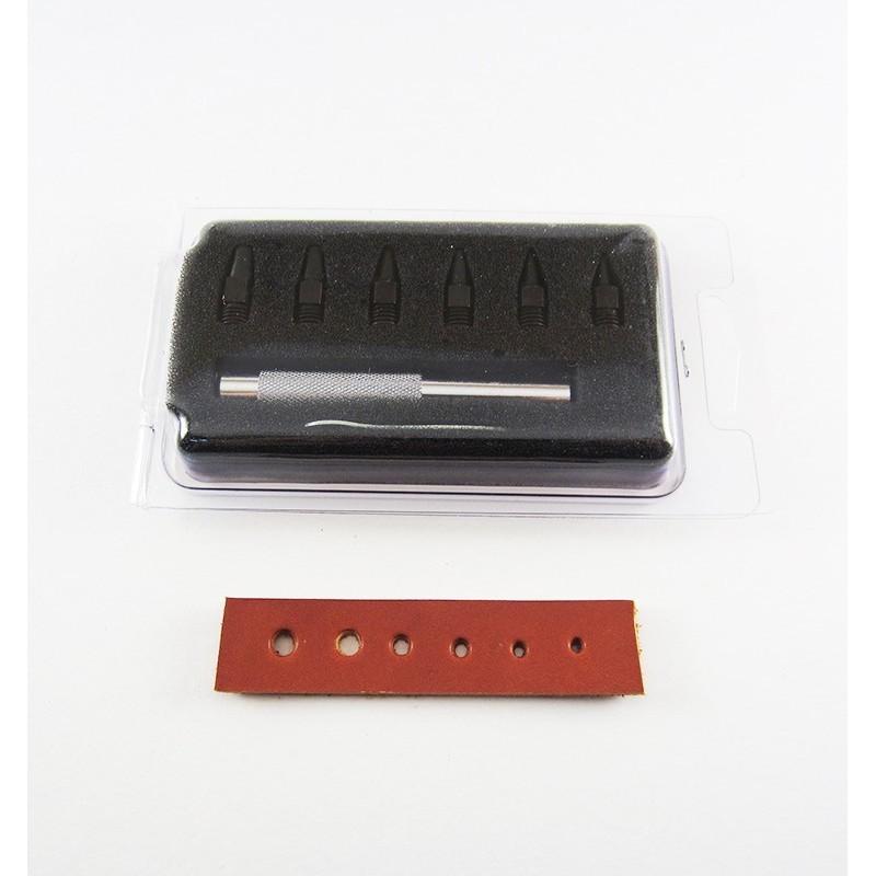 Sacabocados de golpe de 2 a 5 mm