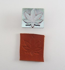 Troquel 8619 - Hoja Marihuana