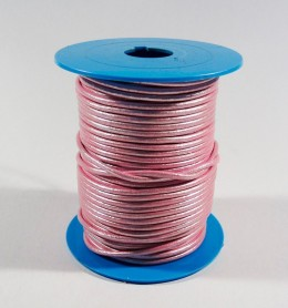 Metros de cordón de 2,5 mm.