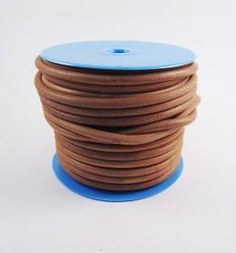 Metros de cordón de cuero 4 mm.