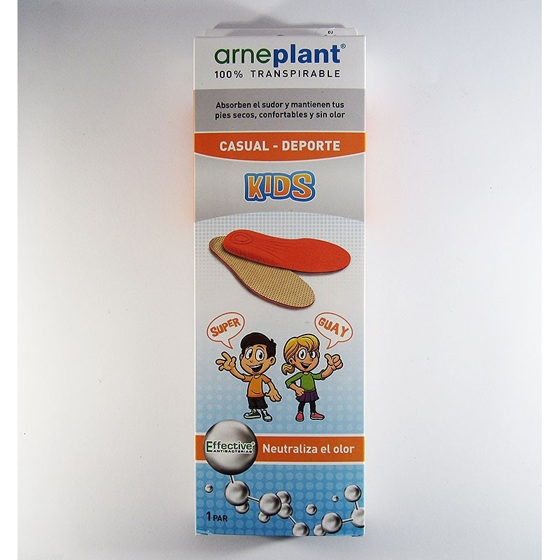 Plantillas casual kids Arneplant