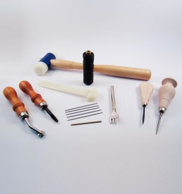 Kit de iniciación para artesanía del cuero
