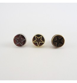 Remaches de adorno estrella