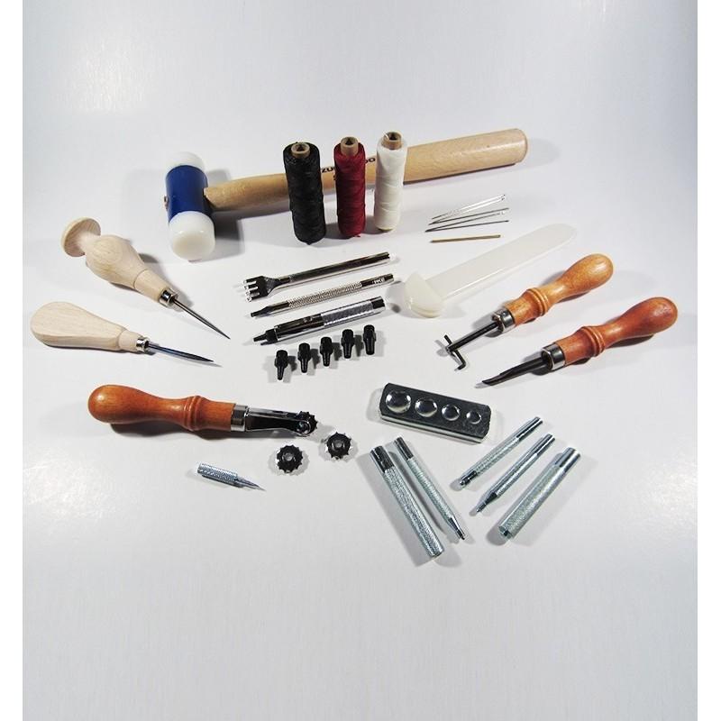Kit premium para artesanía del cuero